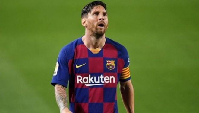 Lionel Messi tenía la intención de dejar el Barcelona en este mercado de pases. Foto: EFE