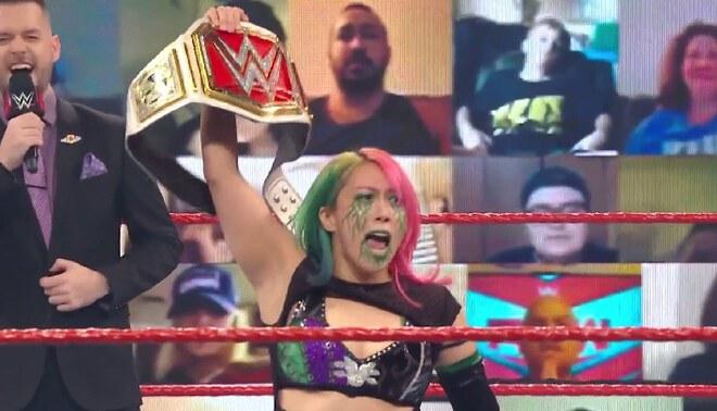 WWE RAW: Asuka retiene su título femenino tras ganar a Mickie James [Resumen]