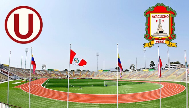 Universitario enfrenta al Ayacucho FC por la fecha 12 del Apertura.