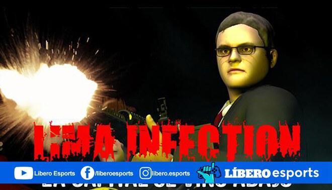 Lima Infection trae un nuevo protagonista a su repertorio, el fiscal José Domingo Pérez ingresa al mundo de Left 4 Dead 2. | Foto: Amauta Collective