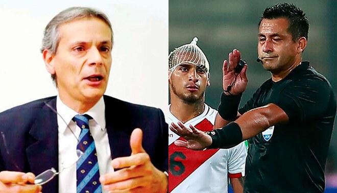 Javier Castrilli responsabilizó al árbitro del VAR por el polémico penal contra Neymar en el Perú vs Brasil.