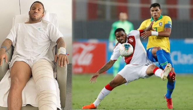 Oblitas confirmó que Jefferson Farfán tiene inflamada la rodilla que fue operada