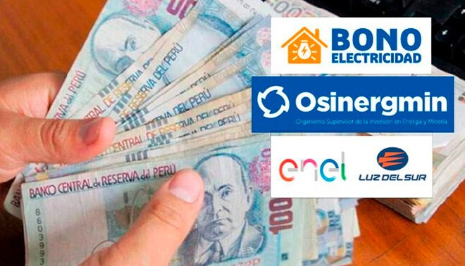 Ministerio de Economía destinó más de 2333 millones para el Bono Electricidad