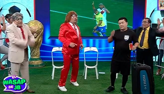 'Wasap de JB': así fue la parodia sobre el árbitro Julio Bascuñán