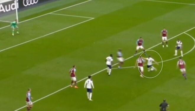 Ver el golazo de Harry Kane ante West Ham por la Premier - FOTO: captura ESPN
