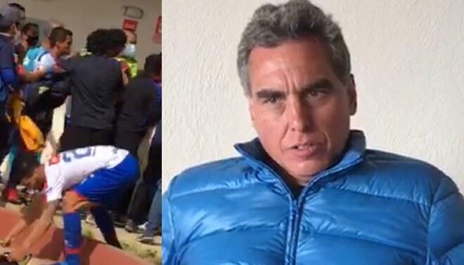 """Chemo del Solar pidió disculpas a Mannucci tras la frase """"desafortunada"""" que lanzó luego de la victoria de César Vallejo."""