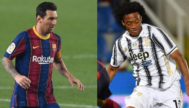 Barcelona se enfrenta este miércoles a la Juventus por la fecha 2 de la Champions. Composición: GLR.