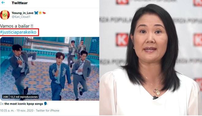 Keiko Fujimori se pronunció sobre posible suspensión de Fuerza Popular