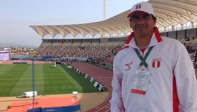 """Oscar Fernández: """"La Federación de Atletismo se debe profesionalizar. Créditos: IPD."""