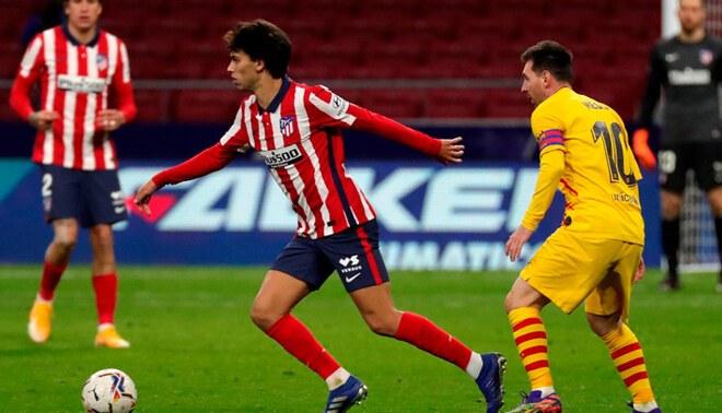 Atlético Madrid no ha perdido un solo partido en La Liga 2020/21. Foto: EFE.