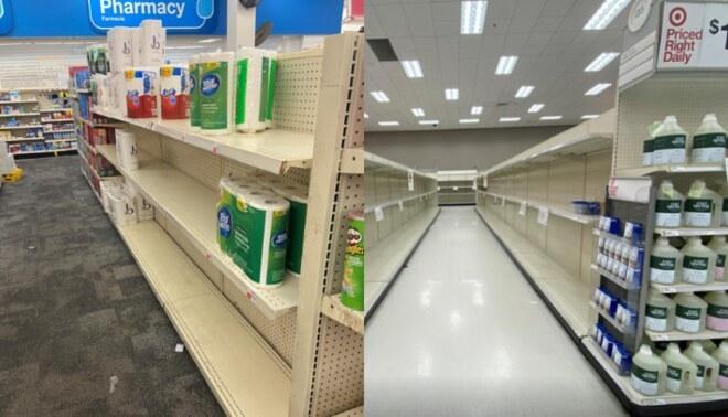 Reportan desabastecimiento de papel higiénico en tiendas de EE.UU. por toques de queda. Foto captura: Reuters