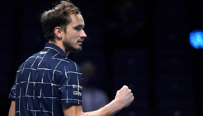 Daniil Medvédev hizo historia en Londres: derrotó a Thiem y se quedó con el ATP Masters 1000