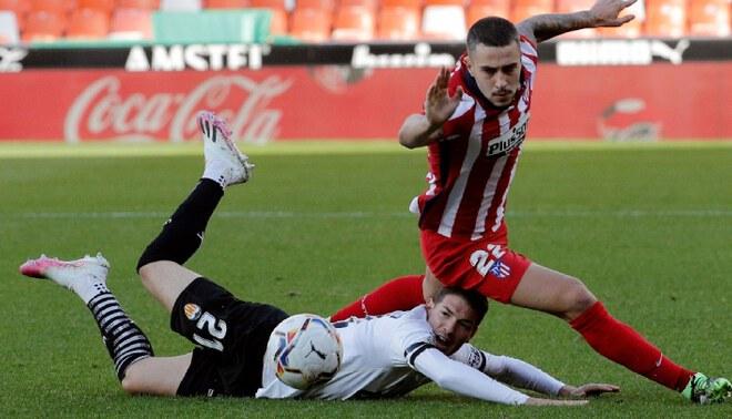 Atlético Madrid ganó 1-0 a Valencia y trepó hasta el segundo lugar de LaLiga