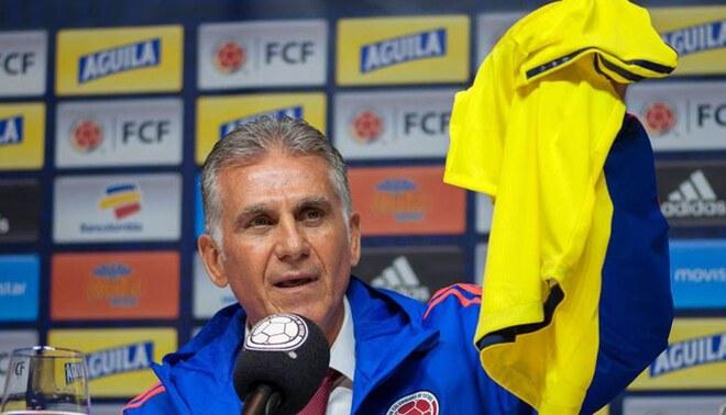 Selección de Colombia anunció salida del entrenador Carlos Queiroz tras sufrir goleadas. Foto: EFE