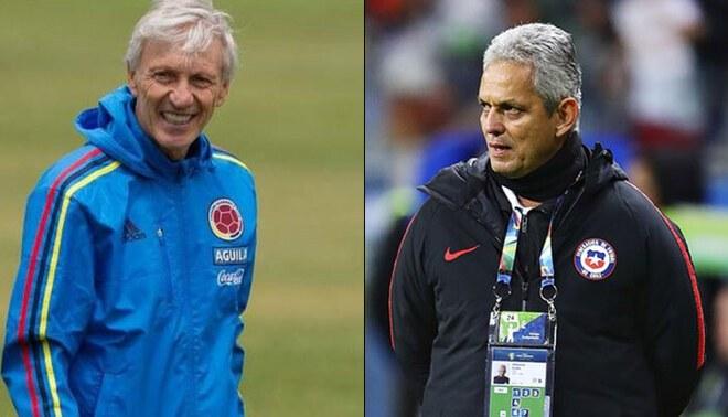 Selección de Chile buscará a José Pékerman si Reinaldo Rueda se va a Colombia. Foto: Composición