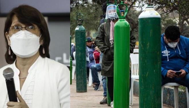 Pilar Mazzetti admitió que el Perú ya se encuentra afrontando una segunda ola de coronavirus. Foto: Composición