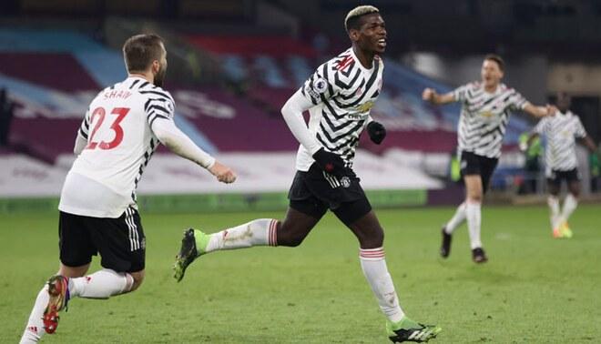 Paul Pogba suma 2 goles en la presente Premier League. Foto: EFE