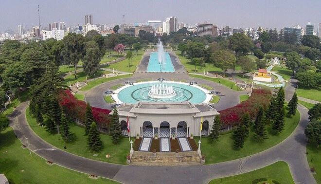 El espectáculo será en el Circuito mágico del Parque de la Reserva. Foto:a Andina.