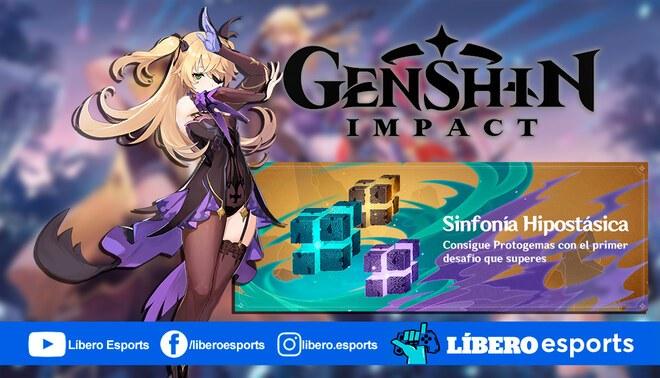 "Genshin Impact: detalles del evento ""Sinfonía Hipostásica""   Foto: composición"