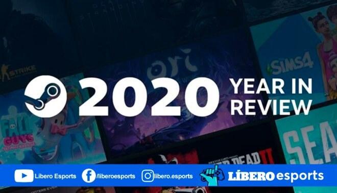 Steam logró números impresionantes en el 2020, aqui un repaso. | Fuente: Composición