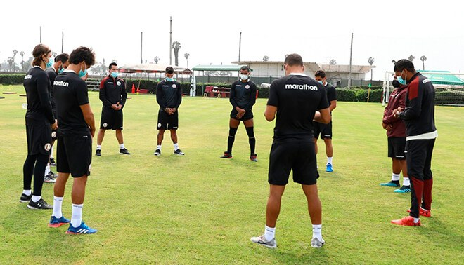 Universitario arrancó la pretemporada.