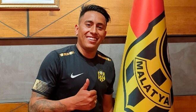 Oficial: Christian Cueva dejó de ser jugador del Yeni Malatyaspor – FOTO