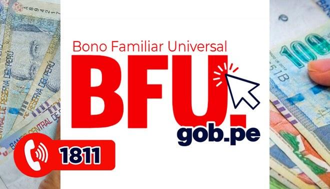 Información sobre el Bono Universal. Foto: composición.