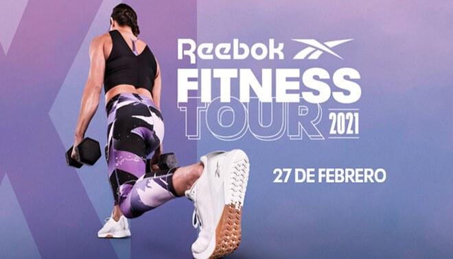 Reebok organiza evento virtual para promover el deporte desde casa.