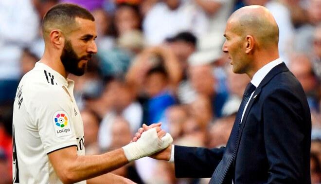 Benzema no jugará ante Atalanta por decisión de Zinedine Zidane