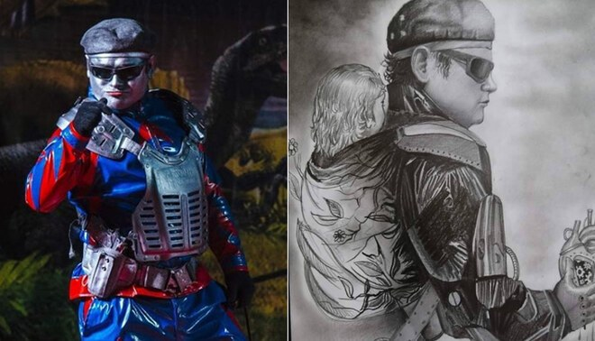 'Robotín' comparte emotiva caricatura y conmueve a todo Facebook - FOTO: Robotín del Perú FB