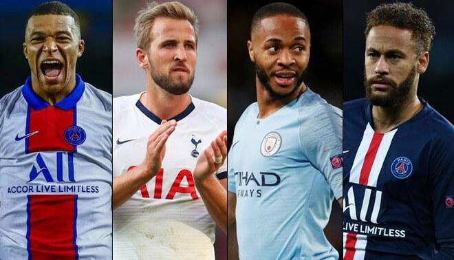 Sin Messi ni Cristiano: Mbappé y Harry Kane lideran Top 10 de jugadores más cotizados. Foto: Composición