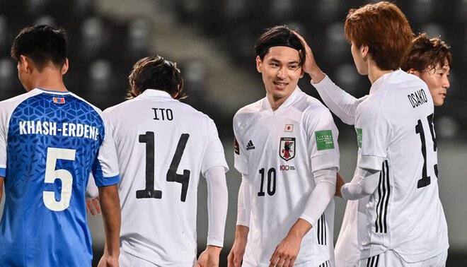 Japón aplastó por 14-0 a Mongolia en las Eliminatorias Qatar 2022 de Asia. Foto: ESPN