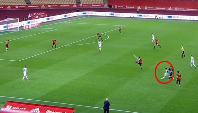 Halimi anotó un golazo para el descuento de Kosovo
