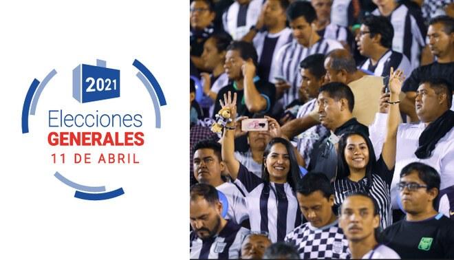 Hinchas de Alianza Lima hacen llamado para ir a votar con camiseta blanquiazul