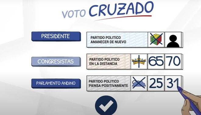 La ONPE precisó que esta opción está permitida en estas Elecciones 2021. Foto: ONPE