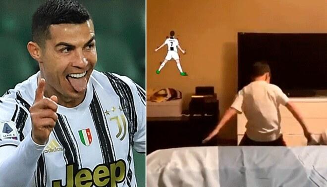 Cristiano Ronaldo lleva 25 goles en la actual temporada de la Serie A de Italia. Foto: composición/Líbero