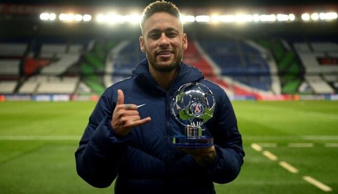 Neymar fue elegido el mejor jugador de la semana en Champions League