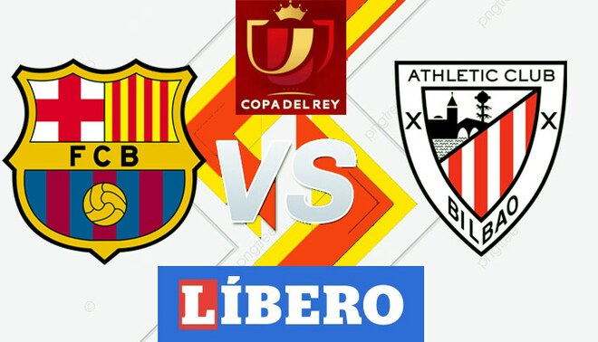Ver Barça – Athletic Bilbao en vivo y en directo vía TELECINCO HD: PT 0-0 por final de Copa del Rey