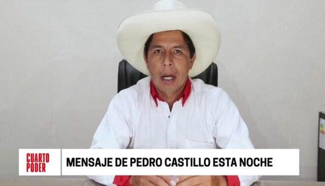 Pedro Castillo se refirió al posible cambio de Constitución en un eventual gobierno suyo.