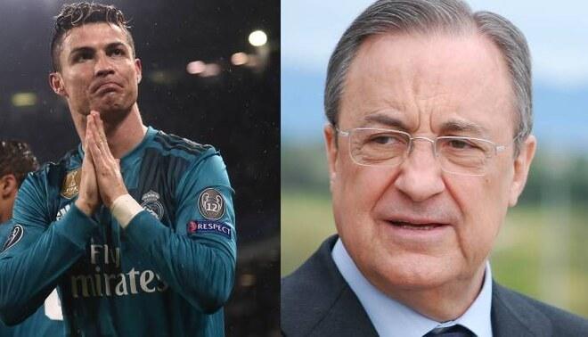 Florentino Pérez descarta fichar a Cristiano Ronaldo, FOTO: EFE