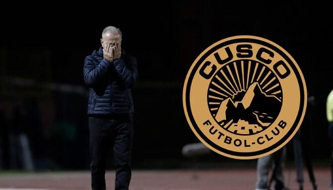 Ramacciotti dejó de ser DT de Cusco y se convierte en el tercer estrega en 'caer' en la Liga 1. FOTO: Composición