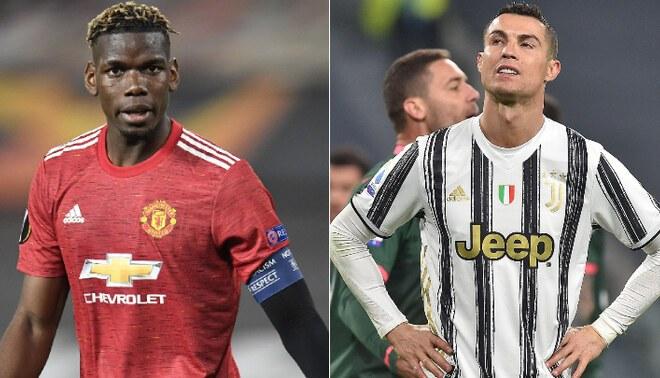 Manchester United y Juventus planean un trueque: Cristiano Ronaldo por Paul Pogba