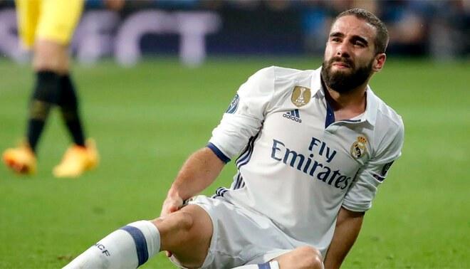 El lateral del Real Madrid no estará en el partido de vuelta frente al Chelsea.