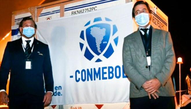 La Conmebol es la primera organización civil del mundo en impulsar una campaña de inmunización masiva.