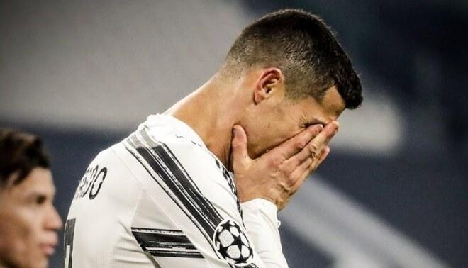 Cristiano eliminado de la Champions y sin opciones de ganar la Serie A. | FOTO: Twitter