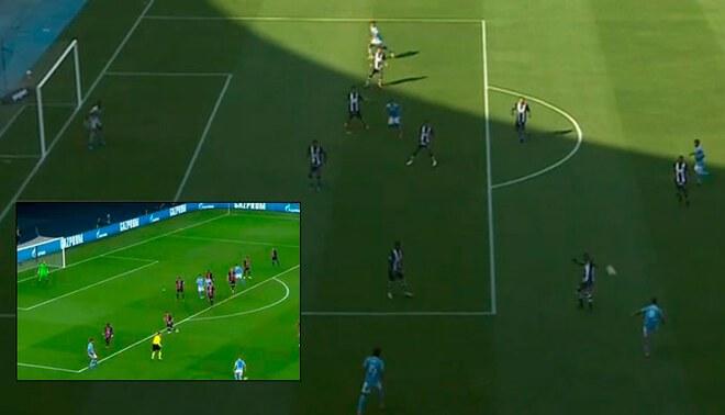 Alianza Lima vs Sporting Cristal chocan en el Estadio Nacional por la Liga 1.