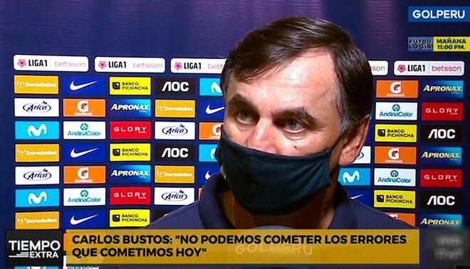Carlos Bustos espera el viernes por su revancha.