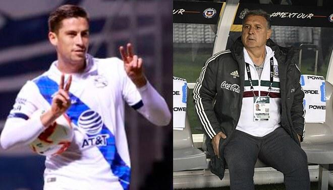Santiago Ormeño sumó 9 goles en la etapa regular de la Liga MX con el Puebla. Foto: difusión/AFP