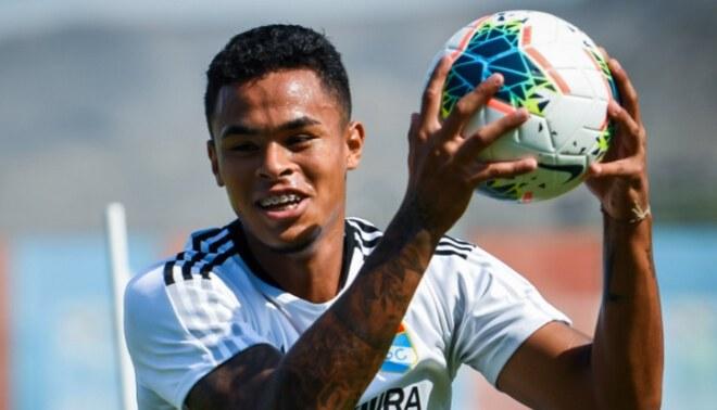Hay esperanzas: lesión de Christopher Olivares no sería de gravedad y volvería antes a las canchas. FOTO: Liga 1