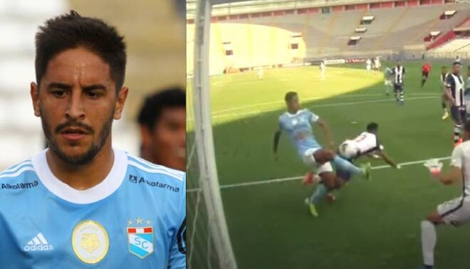 torgaron el primer gol de Cristal ante Alianza a Christopher Olivares